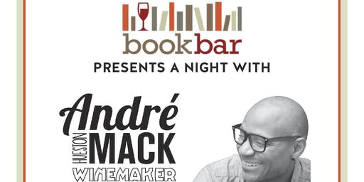 Reading, Signing, and Wine Tasting with André Hueston Mack