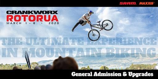 Crankworx Rotorua 2020 Tickets