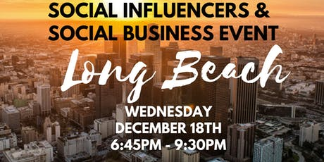 Social Influencers & OTG Social Business Event - December 2019 tickets
