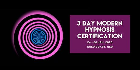 3-Day MODERN HYPNOSIS CERTIFICATION TRAINING tickets