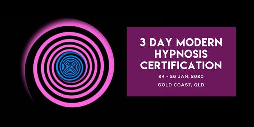 3-Day MODERN HYPNOSIS CERTIFICATION TRAINING