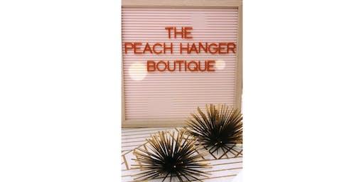 The Peach Hanger Boutique Sip & Shop