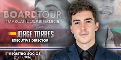 Jorge Torres en Puebla (Formación y presentación)