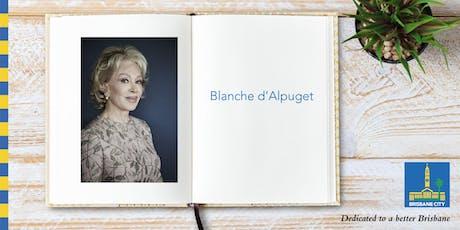 Meet Blanche d'Alpuget - Brisbane City Hall tickets