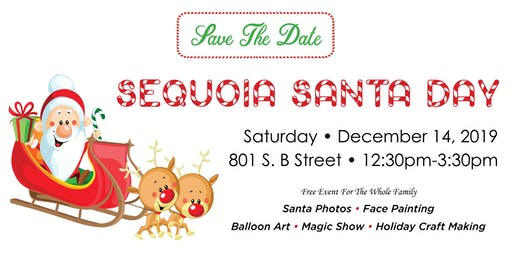 Sequoia Santa Day