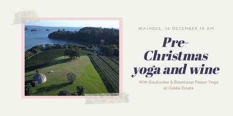 Koukoulee x Basecamp Power Yoga at Goldie Estate tickets