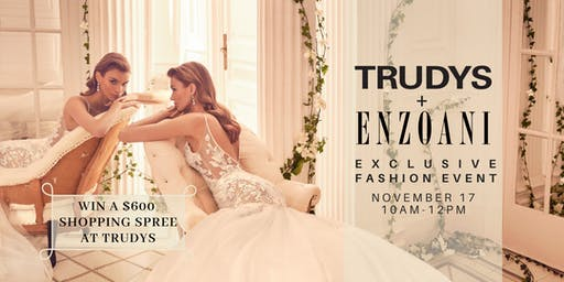 Trudys Fashion Show & Mimosas feat. Enzoani 2020 - First NorCal Showing
