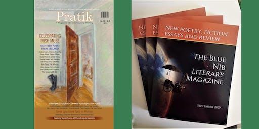 Irish poetry joint launch: Blue Nib & Pratik international lit magazines