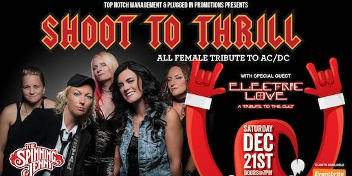 AC/DC & The Cult Tribute Night at The Spinning Jenny