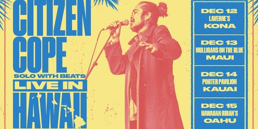 Citizen Cope at Mulligan's on the Blue (December 13, 2019)
