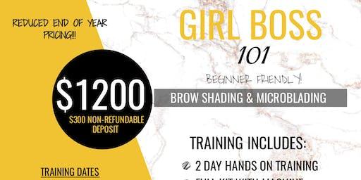 Girl Boss 101: Microblading & Shading (Atlanta, GA)