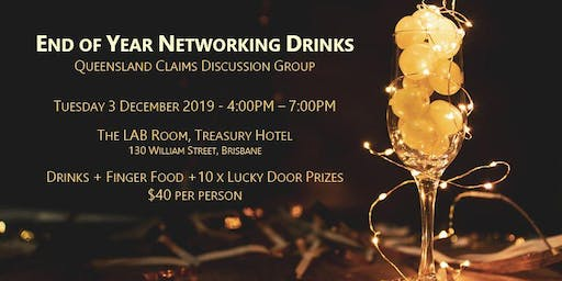 QCDG End of Year Networking Drinks