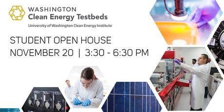 Washington Clean Energy Testbeds Student Open House tickets