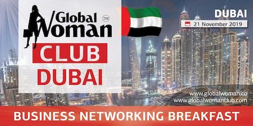 GLOBAL WOMAN CLUB DUBAI: BUSINESS NETWORKING BREAKFAST - NOVEMBER