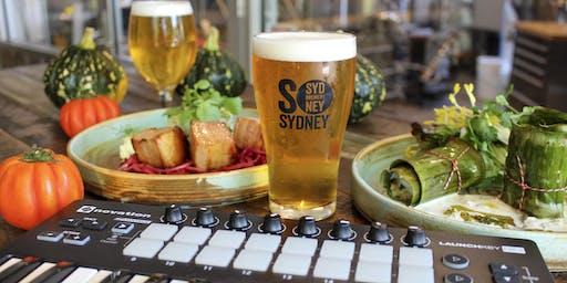 Sensory Beer Dinner