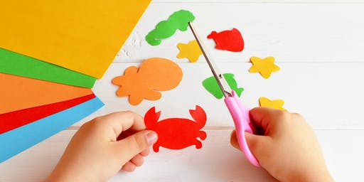 Under the Sea Craft (6 to 10 years) at Parramatta Library