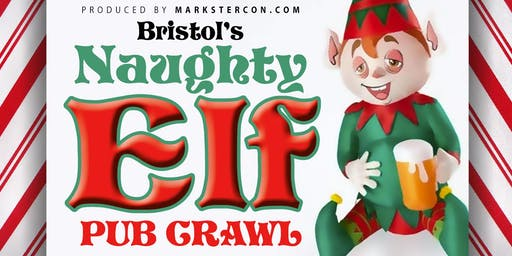 Naughty Elf Pub Crawl (Bristol, TN/VA)