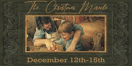 """Night of Music - """"The Christmas Miracle of Jonathan Toomey"""" tickets"""