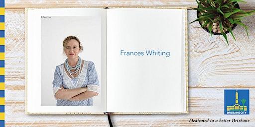 Meet Frances Whiting - Brisbane City Hall