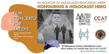 HONOURING A HOLOCAUST HERO - Film Concerto For Yazidis tickets
