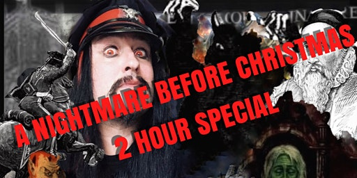 """Flecky Bennett's The """"Nightmare Before Christmas"""" Original Manchester Ghost Walk Two Hour Special"""