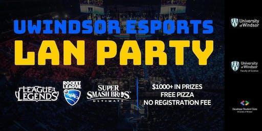 UWindsor Esports Community LAN
