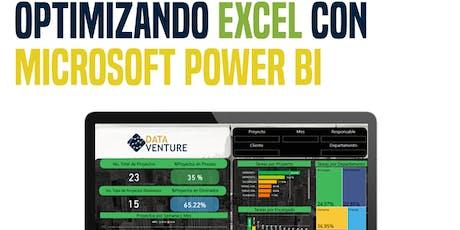 Optimizando el uso de Excel con Microsoft Power BI boletos