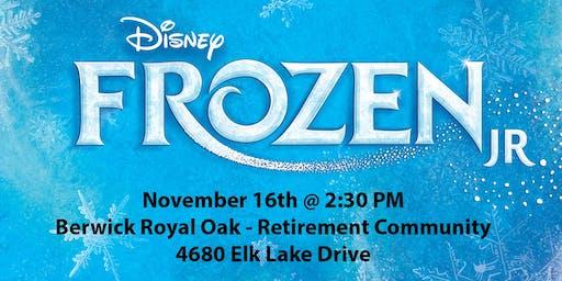 "Praticus Studios Presents ""Frozen Jr"""