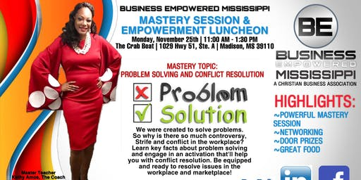 Mastery Session & Empowerment Luncheon