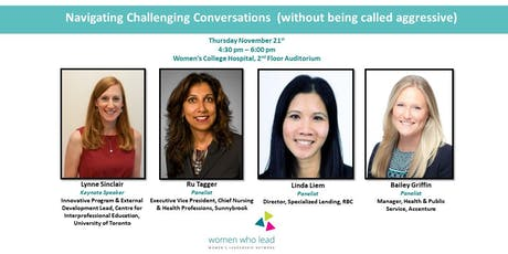 Navigating Challenging Conversations (without being called aggressive) tickets