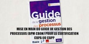 Préparation à la certification BPM  CBPA ou CBPP en...