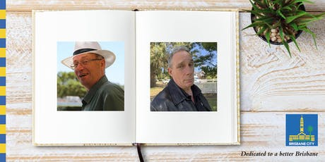 Meet Peter Hoysted and Pat Sheil - Wynnum Library tickets