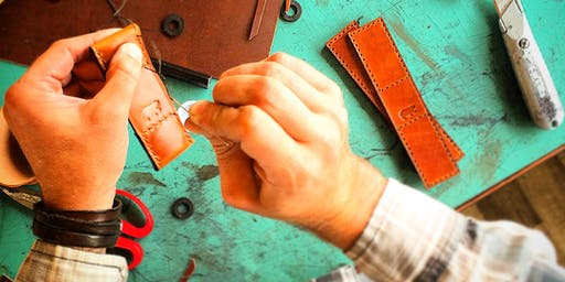 Working With Leather:  Leather Earrings Workshop
