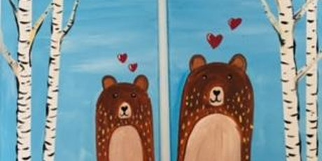 Parent Child Holiday Beginner Paint Date tickets