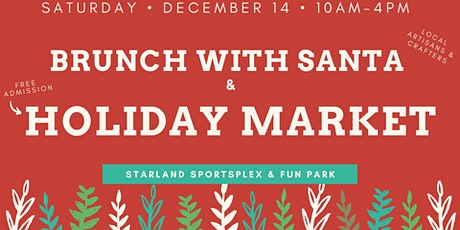 Brunch with Santa & Holiday Market tickets