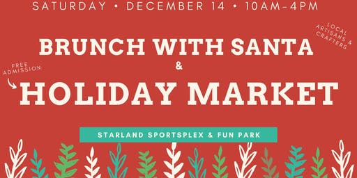 Brunch with Santa & Holiday Market