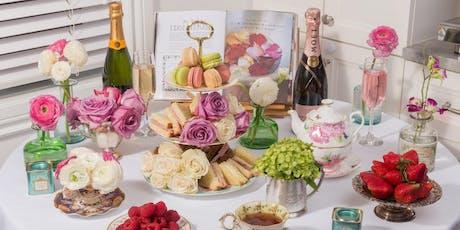 Service du thé et atelier de bouquet de fleurs tickets