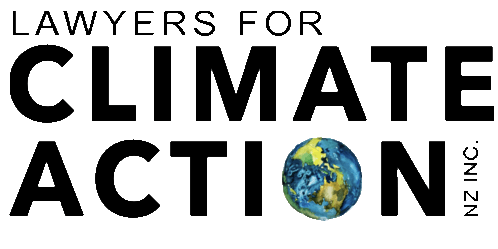 Lawyers for Climate Action NZ Inc. Launch