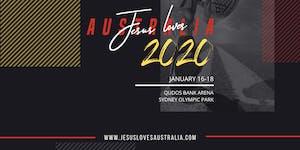 JESUS LOVES AUSTRALIA 2020 - Pastors and Leaders...