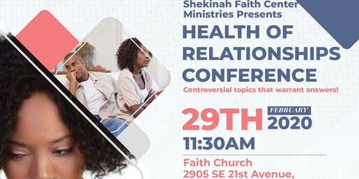 Health of Relationships Conference