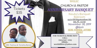 WOLEC 7th  Church/Pastor Anniversary Banquet