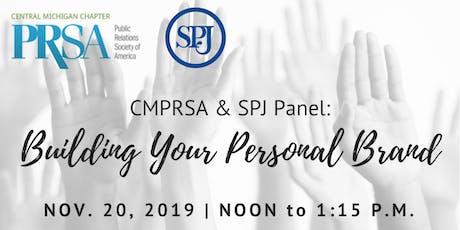 CMPRSA & SPJ Panel: Building Your Personal Brand tickets