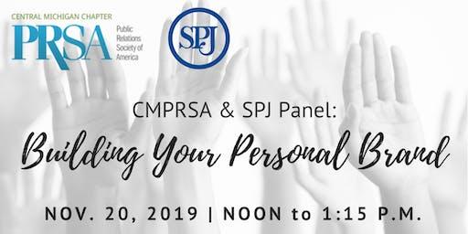CMPRSA & SPJ Panel: Building Your Personal Brand