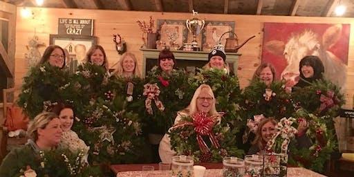 holiday wreath workshops