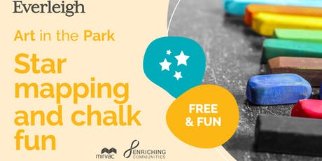 Free 'Art in the Park' Workshops - Chalk drawings (Stars and Planets) tickets