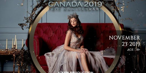 HBB presents Miss Heritage Canada 2019 and Annual Gala Dinner