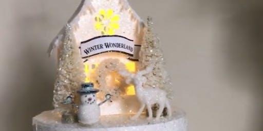 Winter Wonderland Glitter House Workshop