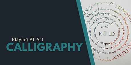 Playing at  Art - Calligraphy (3hrs) tickets