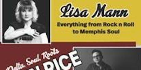 Triple Threat: Ben Rice, Lisa Mann & Lara Price tickets
