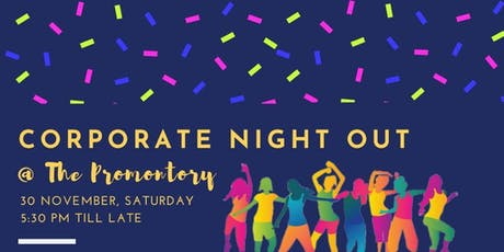 ACTIVE SG CORPORATE NIGHT OUT (30 NOV) PropNex Participation tickets